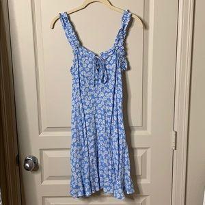 FOREVER21 daisy print dress